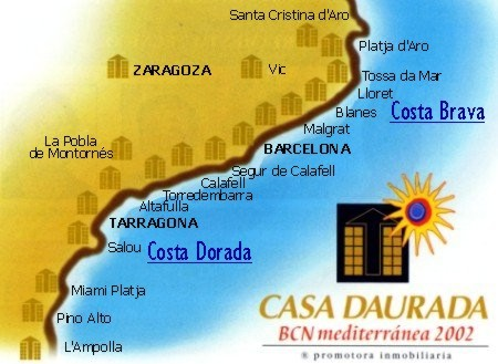 Our promotions in Costa Brava and Costa Dorada which we promote for CASA DAURADA; the largest promoter on the Catalonian coast.